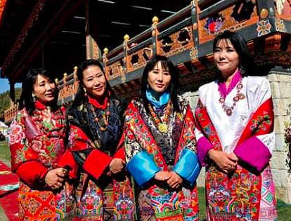 Bhutan's Four Queen Mothers (from the web)